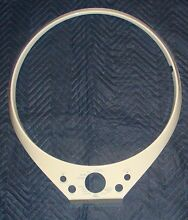 Whirlpool Front Load Washer Ring Trim  W10252106  white in color