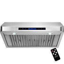 Golden Vantage 36  Under Cabinet Stainless Steel Range Hood Vent with Baffle Fil