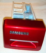 Samsung Washer Detergent Dispenser part   DC97 14481E and DC97 16101B  red