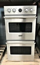 Viking 27  Professional 5 Series Stainless Steel Premiere Double Oven VDOE527ss