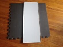 USED GE REFRIGERATOR Evaporator Cover   Gasket PART  WR17X12409 WR14X10054