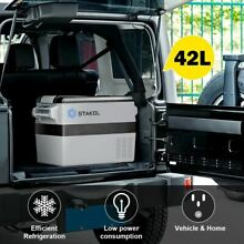Durable Portable Electric Travel Cooler Fast Cooling Car Boat Refrigerator