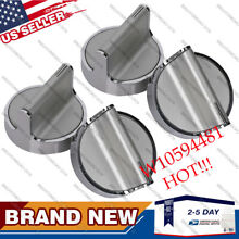 4PC Knob for Whirlpool Stove Range Cooktop AP6023301 W10698166 W10594481 Durable