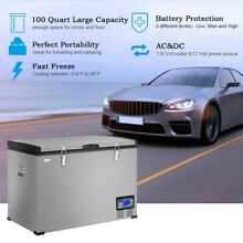 Large Portable Electric Fast Cooling Travel Cooler Car Boat Refrigerator Freezer