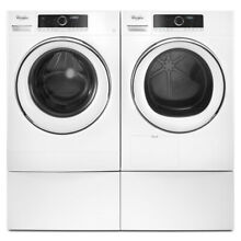 Whirlpool White 12 in x 23 375 in Universal Laundry Pedestal