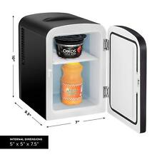 Chefman Portable Compact Personal Fridge Cools   Warms  4 Liter Capacity Chills