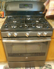 GE 30  Free standing 5 Burner Gas Range  local pick up only