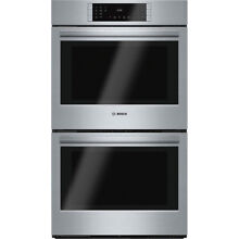 Bosch 800 Series SS Double Wall Oven HBL8651UC