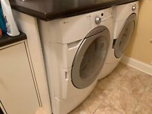 Front Loading Maytag Washer   Dryer with laundry folding counter pre owned