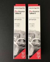 2 NEW Frigidaire EPTWFU01 Replacement Ice and Water Filter New In Box