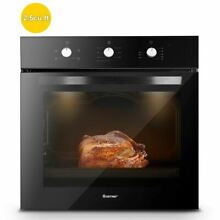 Durable 24  Electric Built in Single Wall Oven 220V Buttons Control
