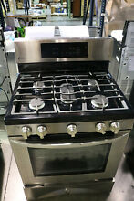 LG LRG3193ST 5 4 Cu Ft Freestanding Gas Convection Range Stainless Steel