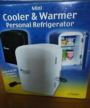 Portable   mini cooler and warmer personal refrigerator