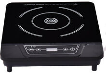 Electric Stove Cooker Induction Cooktop Single Burner W  Digital LED Display