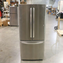 LG LFCS22520S 21 8CF Refrigerator French Door 30  Wide Stainless Steel