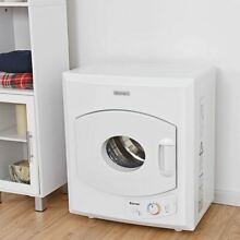 Durable Electric Tumble Compact Laundry Dryer w Stainless Steel Wall Mounted