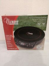 NEW NUWAVE INDUCTION COOKTOP PRECISION HIGH PERFORMANCE 30121 w RECIPE BOOK  DVD