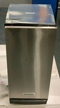 KitchenAid 1 4 Cu  Ft  Built In Trash Compactor Stainless steel KTTS505ESS READ