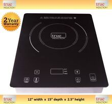 True Induction Cooktop   TI 1B Single Burner Cook top   Counter Inset   TI1B