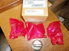 NEW NEW NEW  THERMADOR  OVEN 4 KNOB KIT PART NUMBER 00652574 652574 OR 603758