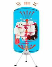PORTABLE ELECTRIC CLOTHES DRYER WARDROBE DRYING MACHINE RV DORM HEATER
