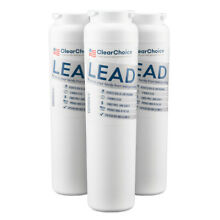 Clear Choice Lead Replacement Filter for Whirlpool  Kenmore UKF8001  3 Pk
