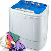 Portable Washing Machine Mini Compact Twin Tub Washer Machine with Wash