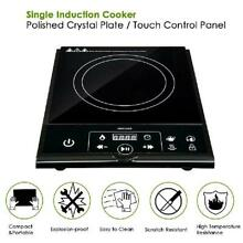 ETL Approved 1800W Electric Induction Cooker Single Portable Burner Cooktops