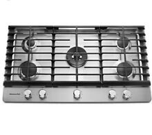 KITCHENAID KCGS956ESS02 36  GAS COOKTOP Stainless