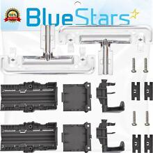 Ultra Durable W10712395 Dishwasher Rack Adjuster Kit  Part By Blue Stars   Exact