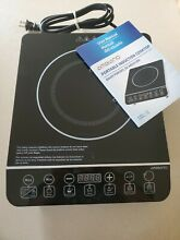 New Black AMBIANO PORTABLE INDUCTION COOKTOP 1800W Out of Box