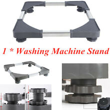 Adjustable Universal Washing Machine Fridge Base Laundry Pedestal Raised Stand