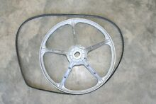 GE FRONT LOAD WASHER GFWN1100L1WW DRIVE PULLEY AND BELT AP3866999 PS1016963