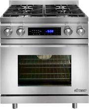 Dacor Distinctive DR30DIH C NG 30 In Pro Style Slide Dual Fuel Range Stainless