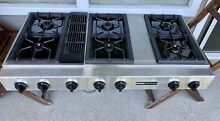 Jenn Air 48 in Conventional Gas Prostyle Grill Cooktop CVG4380P Downdraft