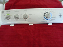 OEM GE WASHER CONTROL PANEL AND CONTROL BOARD WH12X10614  WH42X22776