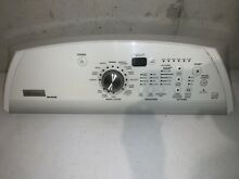 Maytag Washer Control Panel Assembly w o Display Board W10090730 W10051173
