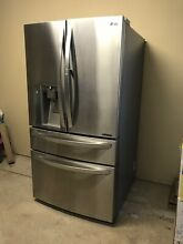 LG French Door Refrigerator Stainless Steel 29 9 Cu Ft MODEL LMXS30776S