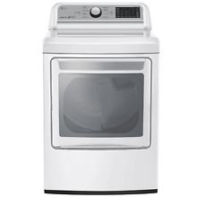 LG 7 3 cu  ft  Smart wi fi Enabled Gas Dryer DLG7201WE  CONTACT FOR SHIPPING