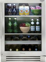 NEW TRUE Residential Glass TBC24RSGB 24  Undercounter Beverage Center