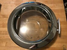 DOOR replacement part   GE WCVH4800KWW 24 Inch Front Load Washer in White