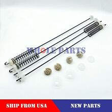 NEW W10780045 W10821956 Washer Suspension Rod Kit  4 pc  Set for Whirlpool