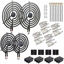 MP22YA Electric Range Burner Element Unit Set 4 Pcs  MP15YA 6    MP21YA 8    33