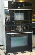 JennAir  30  Built In Microwave Oven Combination  Black