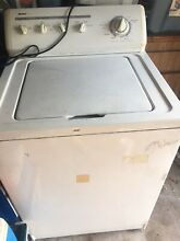 USED KENMORE WASHER  WORKS BUT  DEALER COULD BUY FOR PARTS