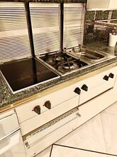 Gaggenau Cooktop Combo  Double Natural Gas  Induction   Deep Fryer With Covers