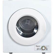 Magic Chef 2 6 cu ft Compact Electric Dryer  White
