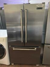Jenn Air 36  French door counter depth stainless steel refrigerator