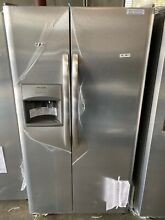 Ffss2615ts Frigidaire 25 5 cu ft Side by Side Refrigerator Stainless Steel 00047