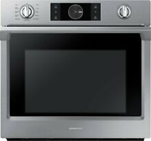 Samsung   30  Single Wall Oven   Stainless steel NV51K7770SS    Open Box